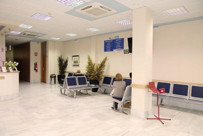 Nuestras Clínicas Bormujos sala de espera