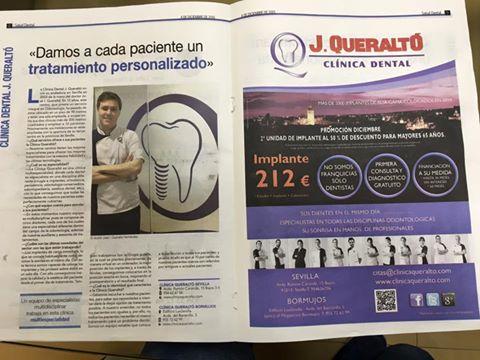 Abc de Sevilla publica un especial en el que escribe de Clinica Dental J. Queraltó