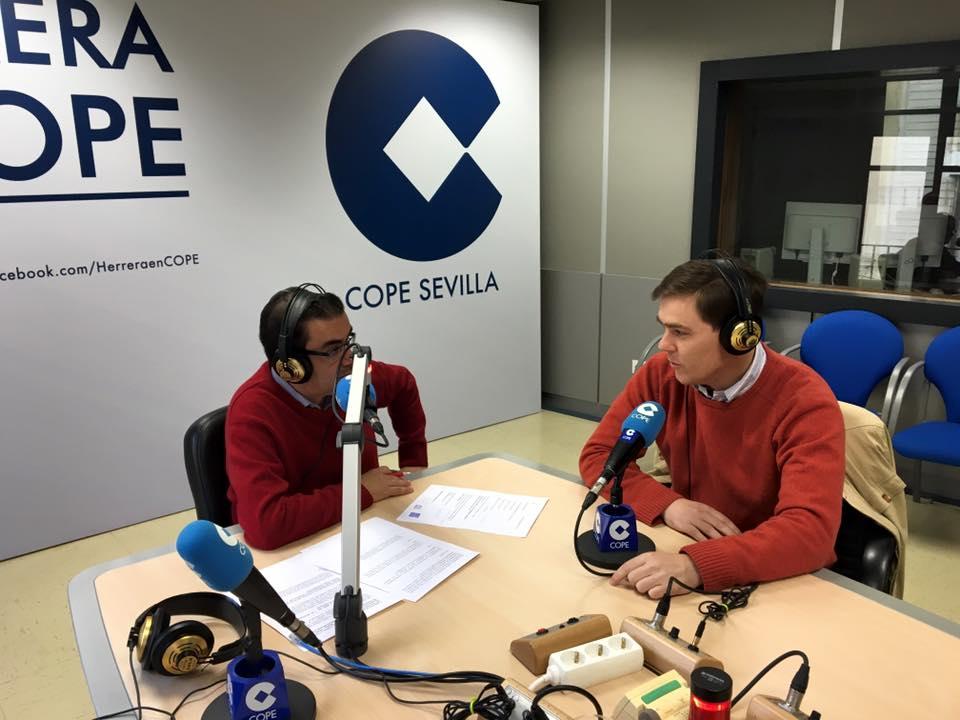 Entrevistaen el Programa la Mañana en Sevilla De Cope a Clínica Dental J. Queraltó