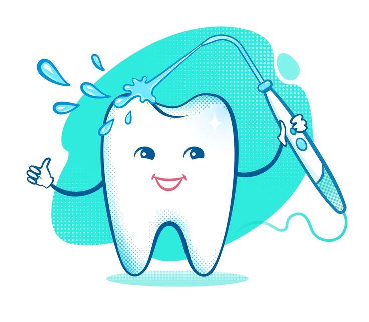 como usar el irrigador dental